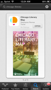 1 of 1, Chicago Literary Map