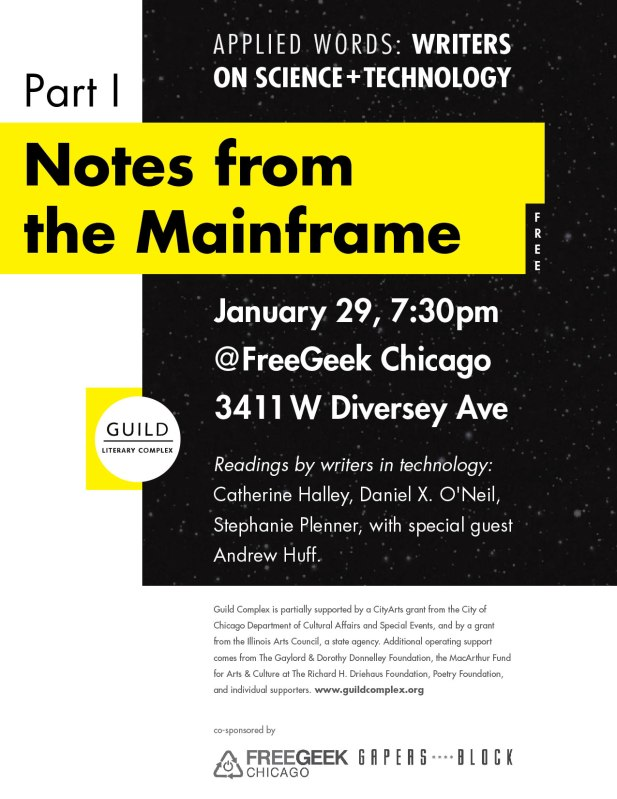 Guild_NotesfromtheMainframe_flyer